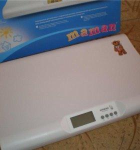 Новые  весы для грудничков младенцев