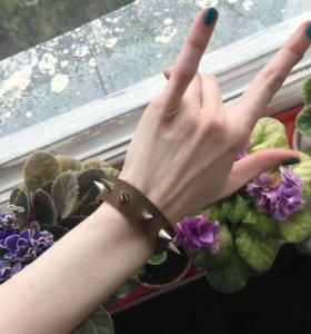 Кожаные браслеты натуральная кожа ручная работа!!