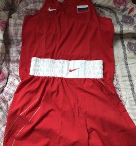 Боксерская форма Nike , новая форма