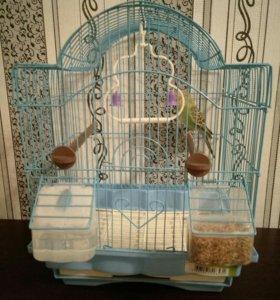 клетка для попугая, обмен
