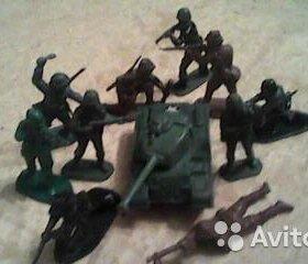 фигурки современн. солдатов (военная тематика)
