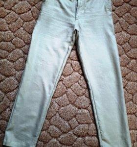 Хлопковые летние муж. брюки р.52-54 на 184-190 см