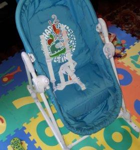 Люлька качалка кресло babyton шезлонг
