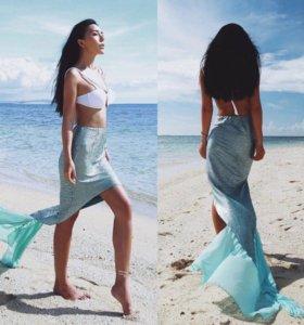 В наличии юбка русалка размер единый