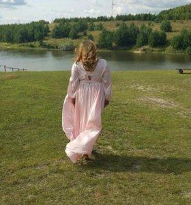 Длинное платье р-р 54