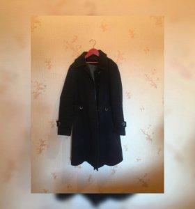 Пальто классическое длинное