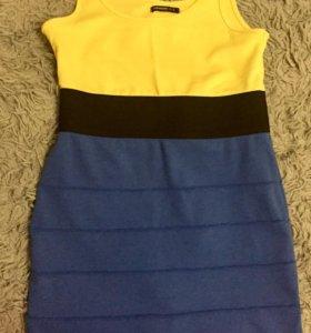 Летний яркий сарафан ( платье) утяжка