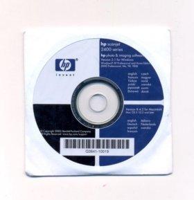Программное обеспечение Сканер HP scanjet 2400