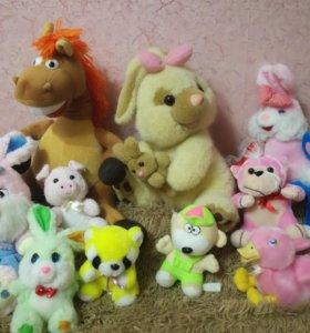 Мягкие игрушки ВСЁ ЗА 300