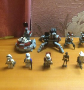 Лего звёздные войны 75000 и 9488