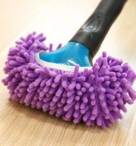 Тапочек-тряпка для уборки из микрофибры.