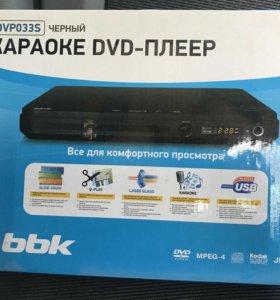 """Плеер - Караоке """"BBK"""" DVD DVP033S"""