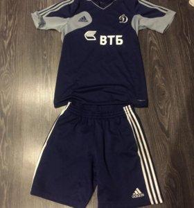Комплект футболка и шорты adidas динамо