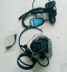 Электрический рулевое управление лодочного мотора