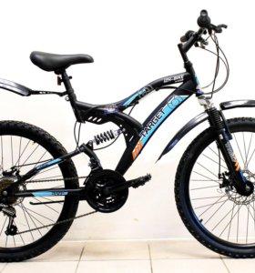 Велосипед Иж-Байк Target 24'' 18 ск. black/blue