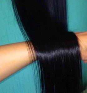 Натуральные волосы славянка Lux