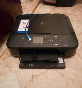 Цветной принтер, сканер и копия