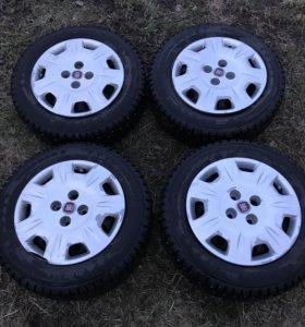 Колёса Fiat Albea с колпаками