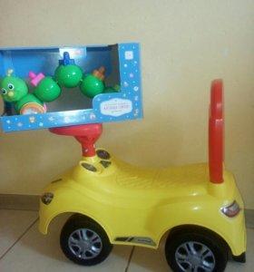 Толакар и развивающая игрушка