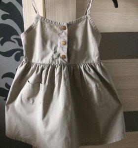 Платье на 3-5 лет