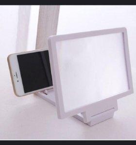 3D увеличивающий экран для смартфона