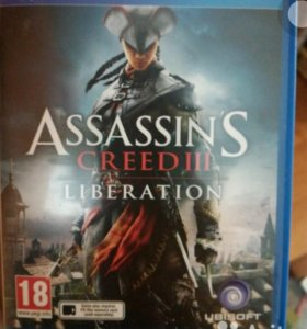 Игра Assassins creed 3 Liberation PSVita