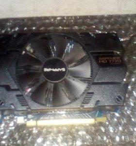Продаю видеокарту AMD Radeon HD 7770
