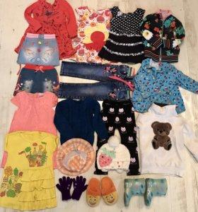 Продам вещи на девочку 2-3 года