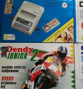 Игровая приставка Dendy и 440 разных игр