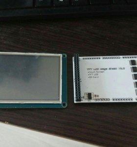 """Экран для ардуино 3,2"""" tft + touch + sd + shield"""