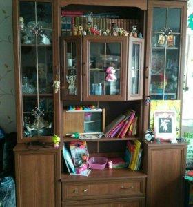 Шкаф для книг и посуды