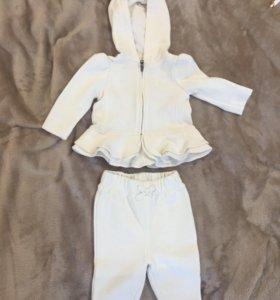 Вещи для новорожденной девочки 0-3 месяцев.