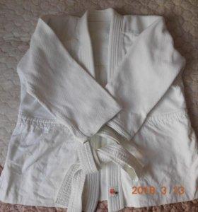 Кимоно белое на подростка