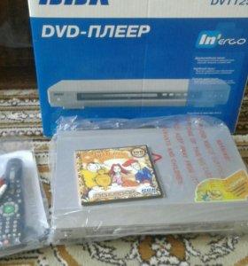 DVD PLAYER BBK+КАРАОКЕ