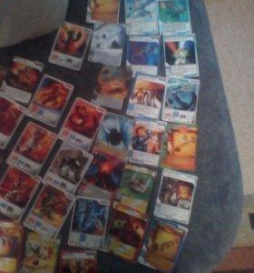 карточки ниндзя го