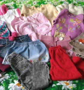 Вещи на девочку 104-110