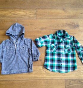 Рубашки на мальчика, GAP, Reserved