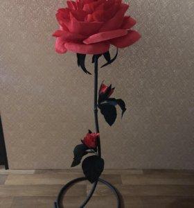 Большая роза.