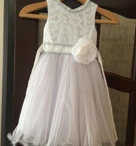 Платье на выпускной из детского сада