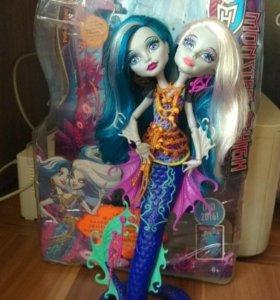 Кукла Monster High Пери и Перл Серпатин/Серпентин