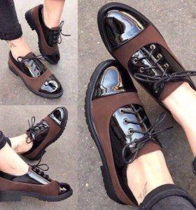 Ботинки весна