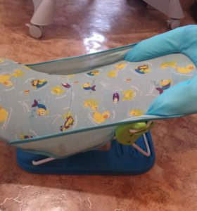 Горка для купания малышей