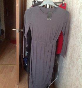 Платье из маечной ткани ,Новое(Италия)