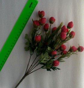 Искусственные бутоны роз, букет