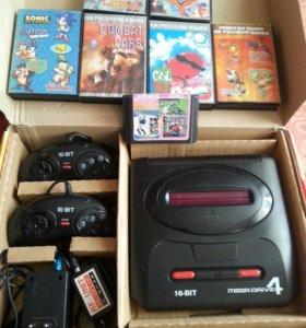 Приставка Mega Drive 4