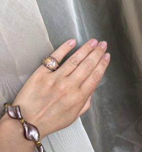 Комплект браслет + кольцо