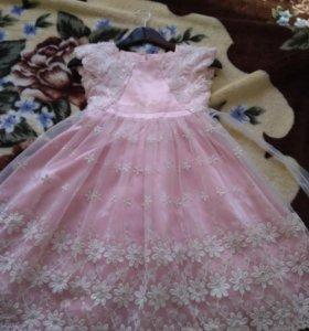 Платье нарядное на рост 116-128