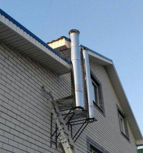 Вытяжка вентиляция дымоход