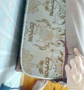 Кровать 202*84 с матрасом 190*80