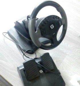 Руль с педалями для PS